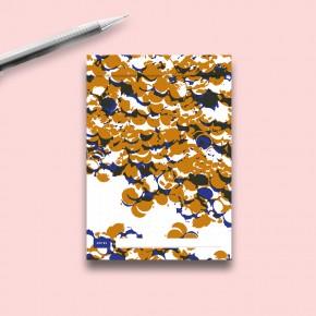 CALEPIN PASTILLES Cuivre et Bleu Profond