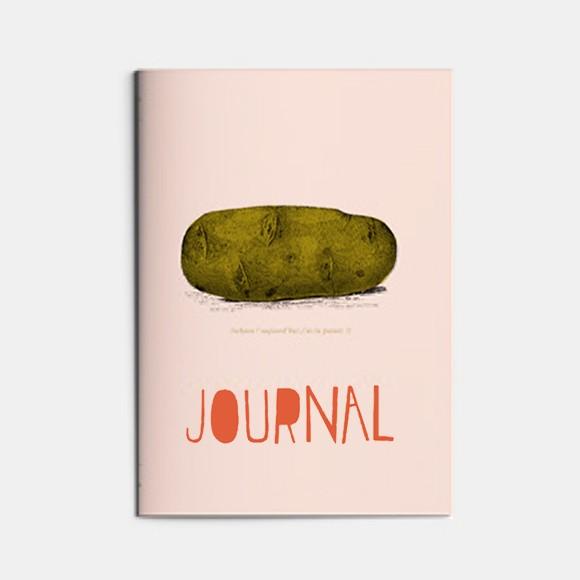 cahier A5 Légumes - patates