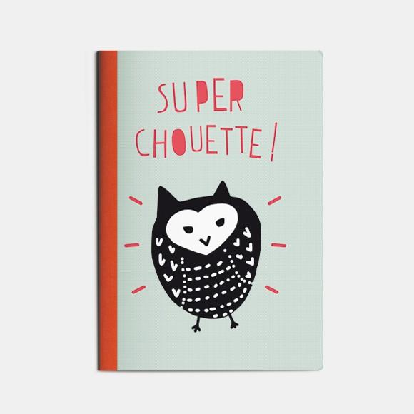 cahier A5 Super chouette