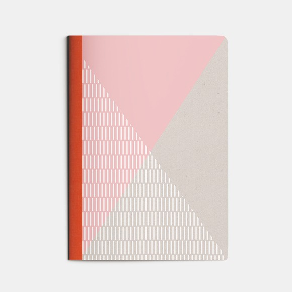 cahier A5 SPORT - rose