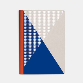 cahier A5 Sport - bleu