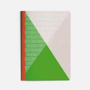 cahier A5 Sport - vert
