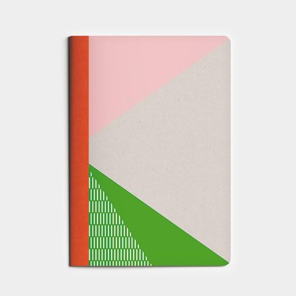 cahier A6 petit SPORT - vert