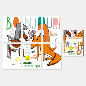Kit Correspondance - Bonjour !
