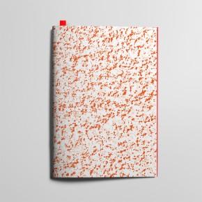 Collection Texture - Mouchetés - Rouge Coquelicot et Rose Délicat