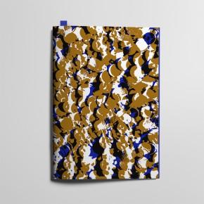 Collection Texture - Pastilles Cuivre et Bleu Profond